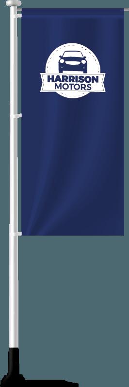 Forecourt Flagpoles