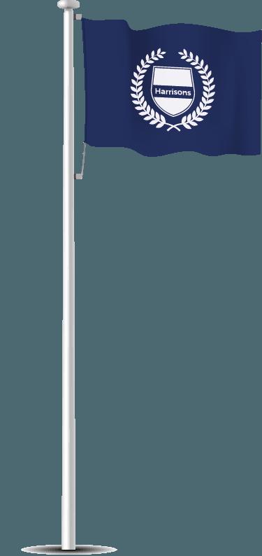 Garden Flagpole