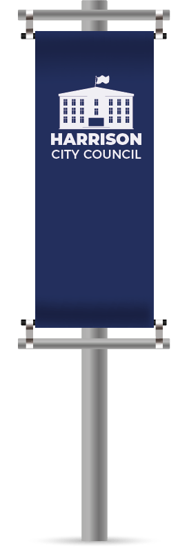 Ground Mounted Banner Poles