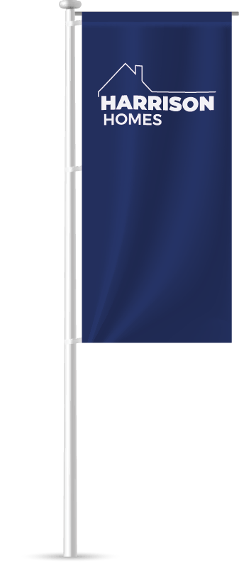 Show Home Flagpole