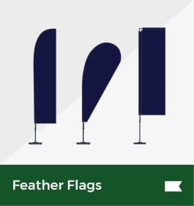 Feather flags environmentally friendly