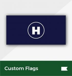 custom flags environmentally friendly