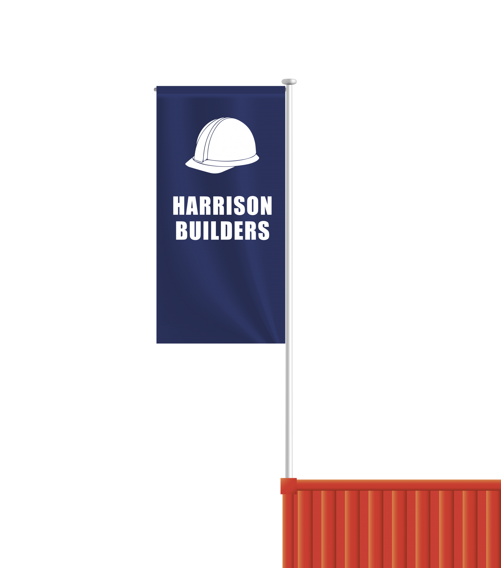 Container Flagpoles