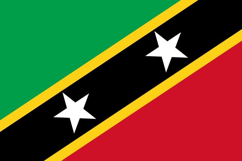 St Kitts – Nevis flag