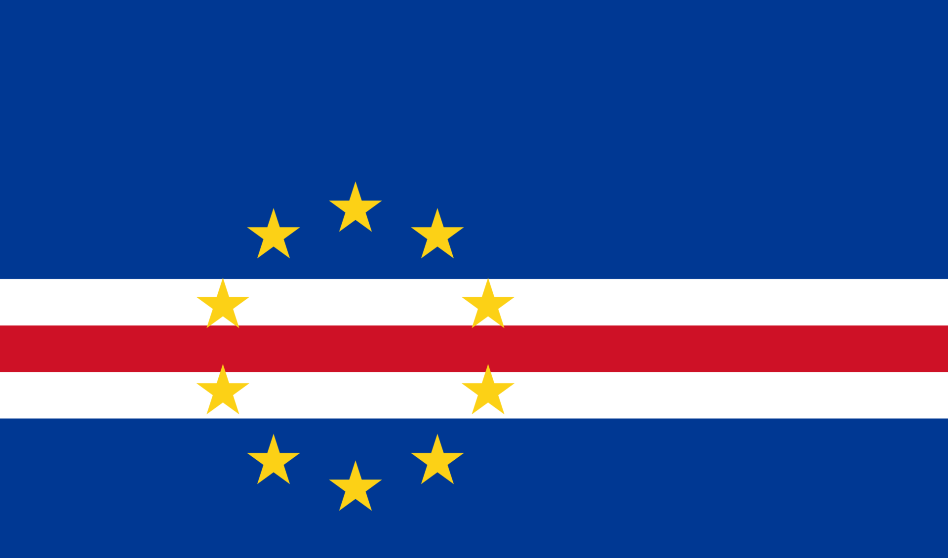Cape Verde Islands flag